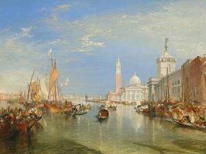 Venice: the Dogana and San Giorgio Maggiore, 1834 by J^ M^ W^ Turner
