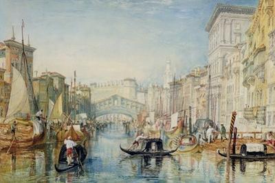 Venice: the Rialto, 1820-21