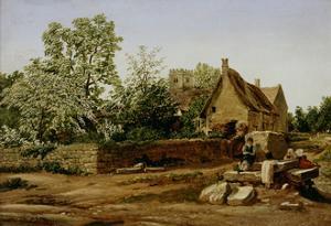 View of Marston, Near Oxford by J. M. W. Turner