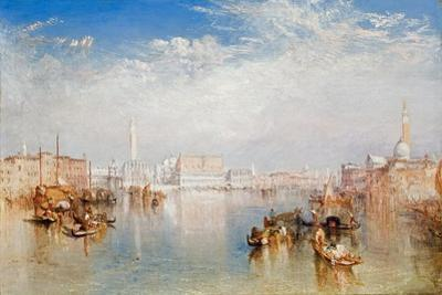 View of Venice: the Ducal Palace, Dogana and Part of San Giorgio, 1841 by J. M. W. Turner