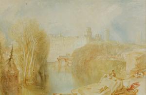View of Warwick Castle by J. M. W. Turner