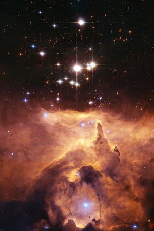 Star Cluster Pismis 24 Above NGC 6357