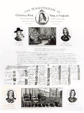 The Martyrdom of Charles I by J. Netherclift