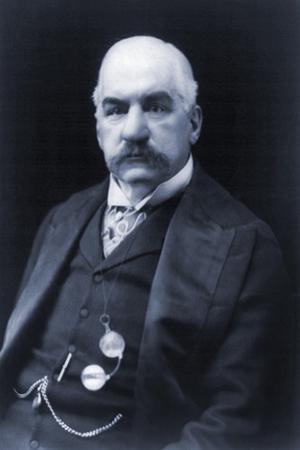 J.P. Morgan American Banker and Financier, 1900s