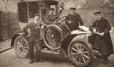 First Taxi-Cab in Liverpool, 1906