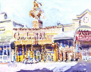 Cowboy Palace, Jackson, WY by J. Presley