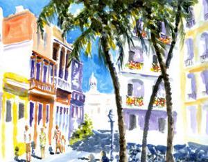 San Juan, Puerto Rico by J. Presley