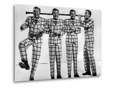 Comedian-Musician Spike Jones Posing for a Picture by J. R. Eyerman
