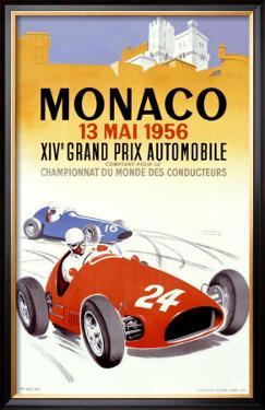 Monaco Grand Prix, 1956 by J. Ramel