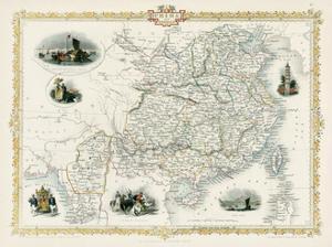 China and Birmah (Burma) by J. Rapkin