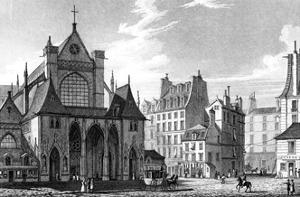 Paris, France - Eglise Saint Germain L'Auxerrois by J. Redaway