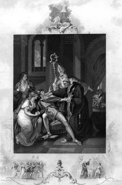 Eadwig Rebuked by Dunstan and Odo by J. Rogers