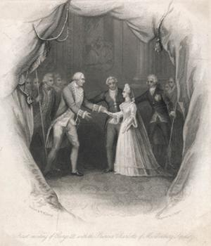 George III, Charlotte by J. Rogers