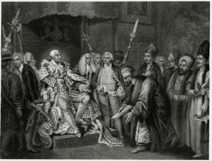 George III, Turkish Chief by J. Rogers
