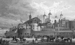 Tower of London, Shepherd by J. Rogers