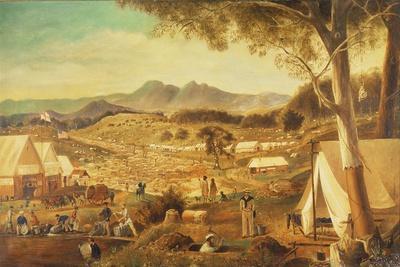 Gold Diggings, Ararat, 1853