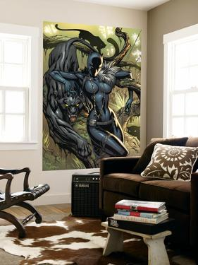 Black Panther No.1 Cover: Black Panther by J. Scott Campbell