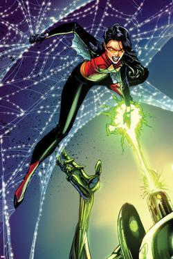 Spider-Woman No. 6 Cover Art Featuring: Spider Woman, Super Adaptoid by J. Scott Campbell