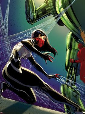 Spider-Women Alpha No. 1 Cover Featuring Silk by J. Scott Campbell