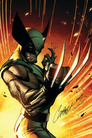 Wolverine: Savage No.1 Cover: Wolverine by J. Scott Campbell
