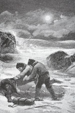 Brainard and Christiansen Succoring Elison, Lynn, and Frederick, Pub. London 1886