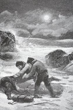 Brainard and Christiansen Succoring Elison, Lynn, and Frederick, Pub. London 1886 by J. Steeple Davis