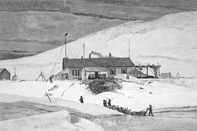 Fort Conger, Frinnell Land, May 20, 1883, Pub. London 1886
