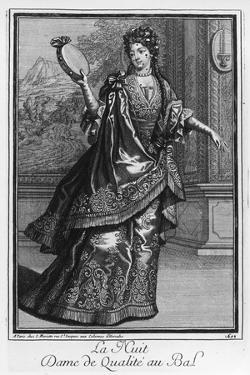 Gentlewoman at the Ball, 1699 by J. Steeple Davis