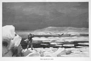 The Death of Jens, Pub. London 1886 by J. Steeple Davis