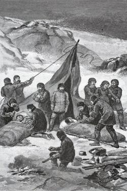 The Rescue, June 23, 1884, Pub. London 1886 by J. Steeple Davis