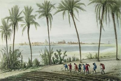 General View of Cadiz, Engraved by John Pye (1782-1874)