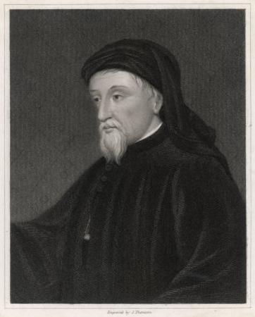 Geoffrey Chaucer English Poet Writer of the Canterbury Tales