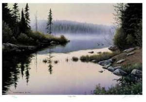 Misty Shore by J. Vanderbrink
