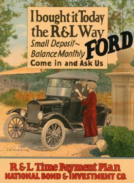 I Bought It Today, The R&L Way: Ford by J.w. Pondelicek