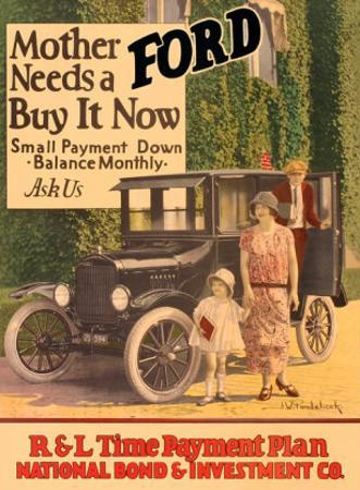 Mother Needs A Ford, Buy It Now by J.w. Pondelicek