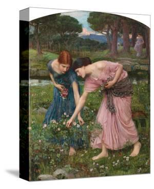 Gather Ye Rosebuds by J.W. Waterhouse