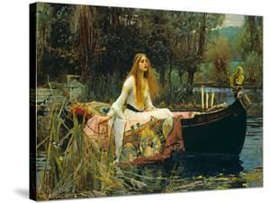 The Lady of Shalott, 1888 by J.W. Waterhouse