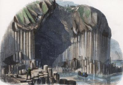 Fingal's Cave Staffa Hebrides Scotland