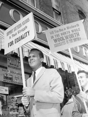 Segregation Protest Belafonte by J. Walter Green