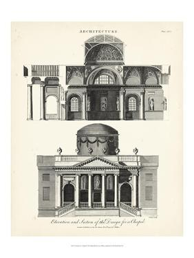 Design for a Chapel by J^ Wilkes