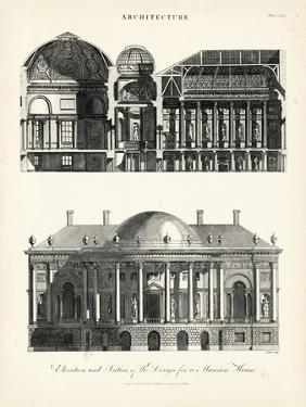 Design for a Mansion by J^ Wilkes