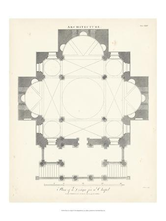 Plan for a Chapel