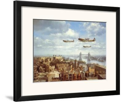 Spitfires Over London by J. Young
