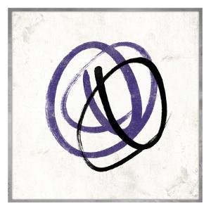 Abstract Circle Mate Purple by Jace Grey