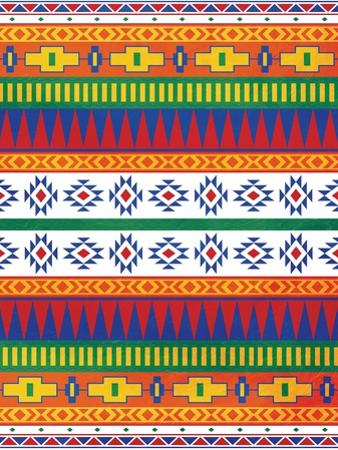 Aztec Patterned Mate Colors by Jace Grey