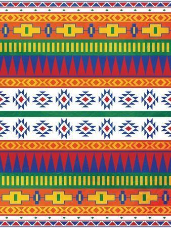 Aztec Patterned Mate Colors