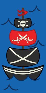 Big Pirate Ship by Jace Grey