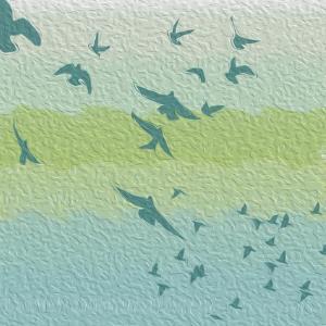 Coastal Birds Of Flight by Jace Grey