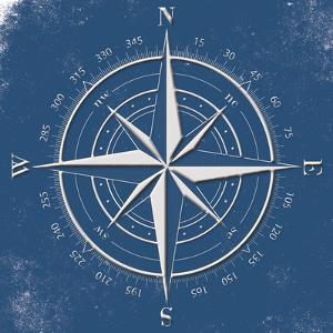 Coastal Pop Compass by Jace Grey