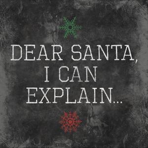 Dear Santa Explain by Jace Grey